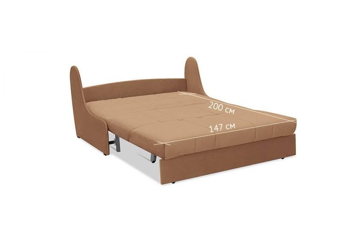 диван аккордеон без подлокотников 150 см
