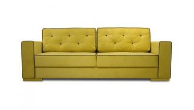 Диван Аякс Velvet Yellow