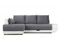 Угловой диван с независимым пружинным блоком ПолоLUXНПБ фото