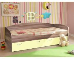 Кровать Бриз 2/1 (80х190) фото