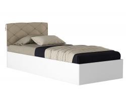 Кровать с матрасом ГОСТ Виктория-П (90х200) фото