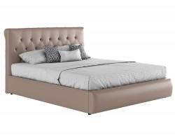 Мягкая кровать с матрасом ГОСТ Амели (160х200) фото