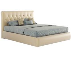 Мягкая кровать с основанием и матрасом Амели (140х200) фото