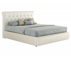 Мягкая кровать с основанием и компоектом для сна Амели (160х200) фото