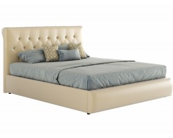 Мягкая кровать с ПМ Амели (180х200) фото