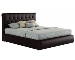 Мягкая кровать с ПМ и матрасом ГОСТ Амели (180х200) фото