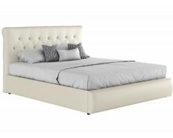 Мягкая кровать с основанием и матрасом Амели (180х200) фото