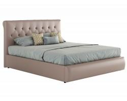 Мягкая кровать с основанием и компоектом для сна Амели (180х200) фото