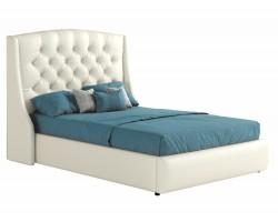 Мягкая кровать с ПМ и матрасом Promo B Стефани (140х200) фото