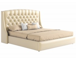 Мягкая кровать с ПМ и матрасом Promo B Стефани (160х200) фото