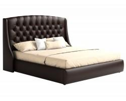 Мягкая кровать с ПМ и матрасом Стефани (160х200) фото