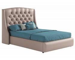 Мягкая кровать с основанием и матрасом Promo B Стефани (140х200) фото