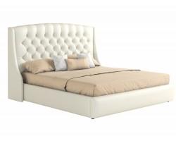 Мягкая кровать с основанием и матрасом Стефани (160х200) фото