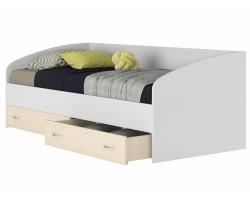 Кровать с матрасом ГОСТ Уника (90х200) фото