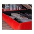 """Мягкая кровать """"Stefani"""" 1400 оранж с подъемным механи недорого"""