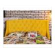 """Мягкая кровать """"Stefani"""" 1600 желтая с подъемным механ от производителя"""