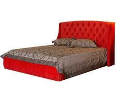 """Мягкая кровать """"Stefani"""" 1600 оранж с подъемным механи фото"""