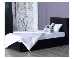 Мягкая кровать Selesta 900 темная с подъемным механизмом с матра фото
