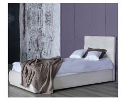 Мягкая кровать Selesta 900 беж с ортопедическим основанием с мат фото
