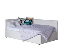 Односпальная кровать-тахта Bonna 900 белый с подъемным механизмо фото