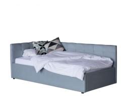 Односпальная кровать-тахта Bonna 900 серая ортопед.основание фото