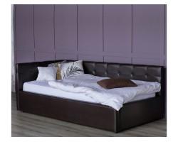 Односпальная кровать-тахта Bonna 900 венге ортопед.основание с фото