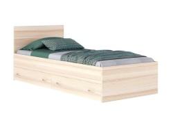 """Кровать односпальная """"Виктория"""" 900 с ящиками дуб/дуб фото"""
