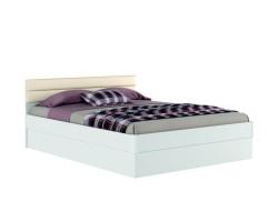 """Кровать """"Николь МБ"""" 1800 с подъемным механизмом (белый фото"""