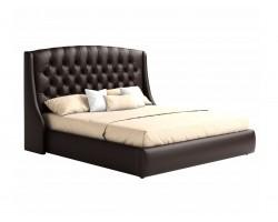"""Мягкая двуспальная кровать """"Стефани"""" 1800 с подъемным фото"""