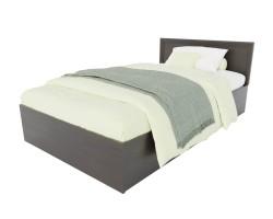 Кровать Адель 1200 с багетом и матрасом ГОСТ фото