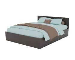 Кровать Адель 1600 с багетом и ортопедическим матрасом АСТРА фото