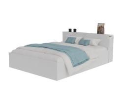 Кровать Доминика с блоком 180 (Белый) фото