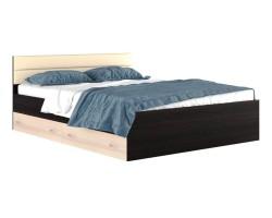"""Двуспальная кровать """"Виктория МБ"""" 1600 с мягким фото"""
