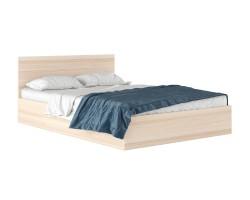 """Кровать """"Виктория"""" 1400 в цвете дуб с матрасом Promo B фото"""