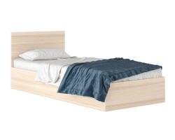 """Односпальная кровать """"Виктория"""" 80*200 в текстуре дуб  фото"""