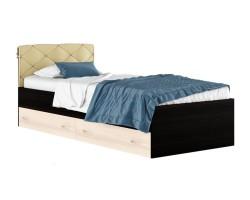 """Односпальная кровать """"Виктория-П"""" с ящиками и подушкой фото"""