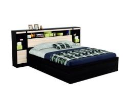 """Двуспальная кровать """"Виктория"""" 1800 с блоком, тумбами  фото"""