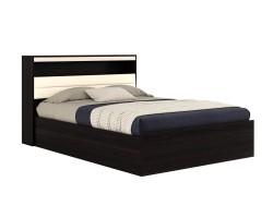 """Двуспальная кровать  """"Виктория"""" 1600 с мягким блоком и фото"""