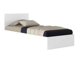 Кровать Виктория 80 белая с матрасом ГОСТ фото