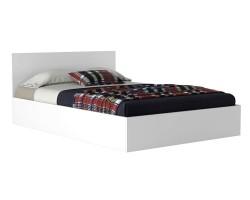 Кровать Виктория 140 белая с матрасом ГОСТ фото