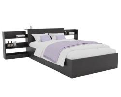 Кровать Доминика с блоком 120 (Венге) фото