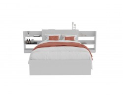 Кровать Доминика с блоком 120 (Белый) с матрасом PROMO B COCOS фото