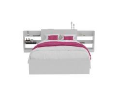 Кровать Доминика с блоком 120 (Белый) с матрасом АСТРА фото